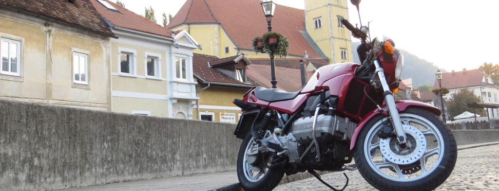 Spirit of past time – BMW K100