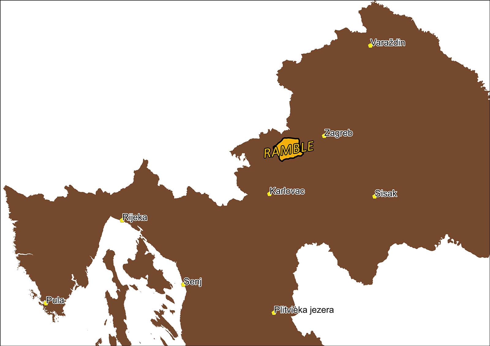 Rambler route Jastrebarsko